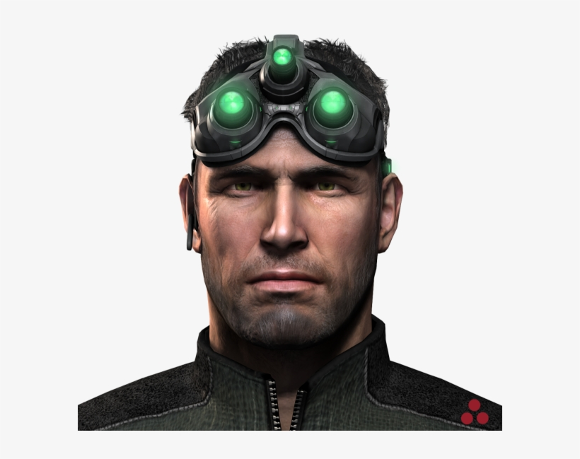 1778bb20b6a3 Download Download Png - Sam Fisher - 600x600 PNG Download - PNGkit