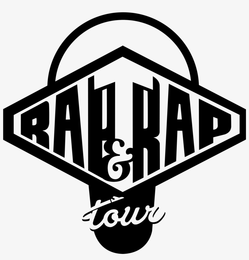 Cropped Rap Trap Tour Black - Trap Music - 2550x2048 PNG