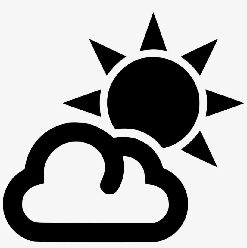 Cloud Outline Sun - Icon Sun - 980x938 PNG Download - PNGkit