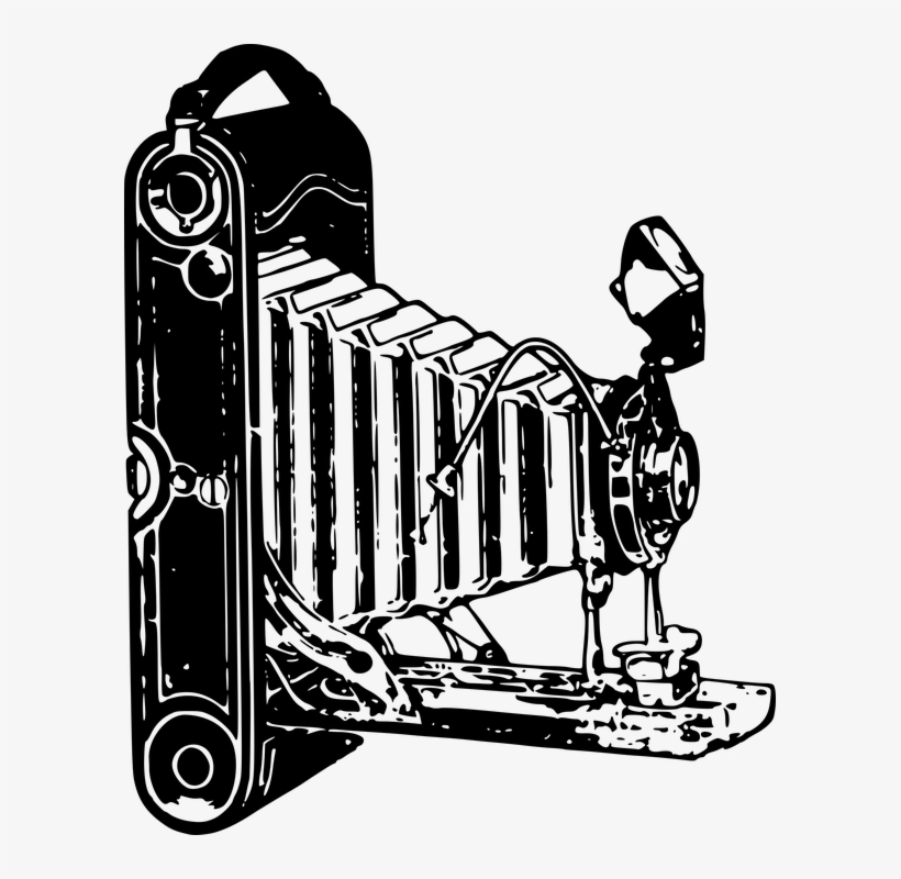 Vintage Camera Vector Png Old Style Clipart 593x720 Png Download Pngkit