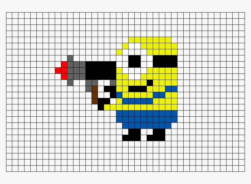 Pixel Art Les Minions 780x521 Png Download Pngkit