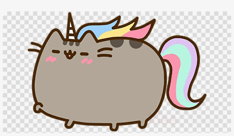 Pusheen Unicorn Clipart Cat Pusheen - Pusheen The Cat ...