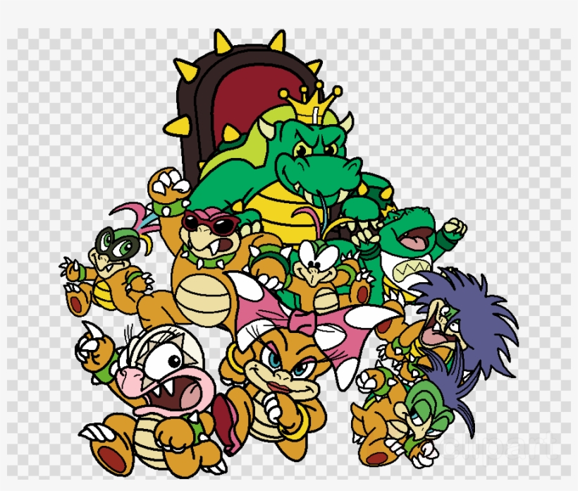 Koopa Kids Clipart Bowser Super Mario World Yoshi - King Koopa And on kano world map, nintendo world map, ventus world map, kirby world map, super mario galaxy world map, mushroom world map, dracula world map, shadow the hedgehog world map, super mario kart world map, raphael world map, sly cooper world map,