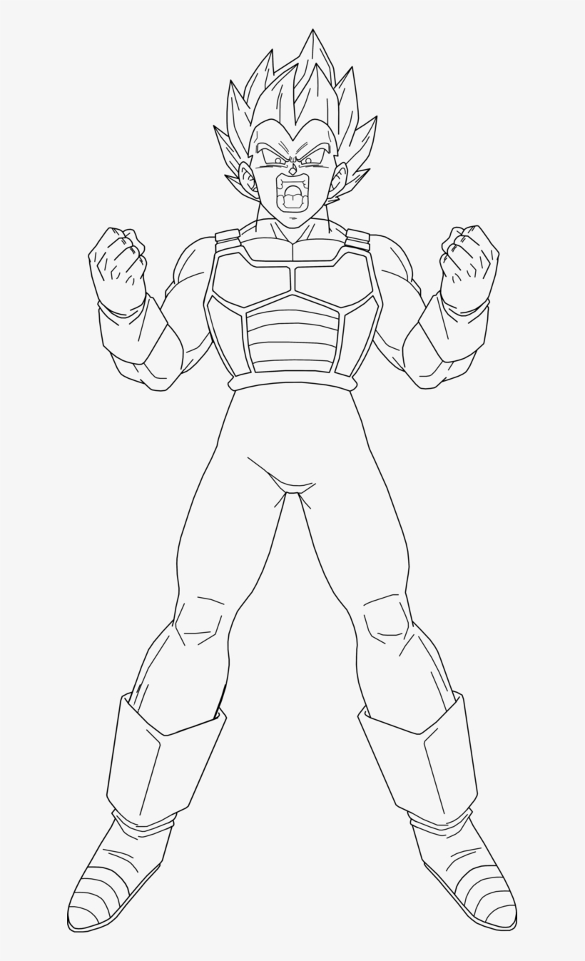 Best Coloring Pages Site: Goku Super Saiyan 2 Coloring Pages