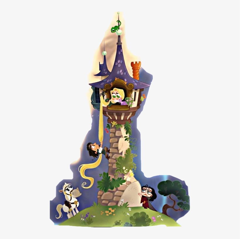 Tangled Tower 480x735 Png Download Pngkit