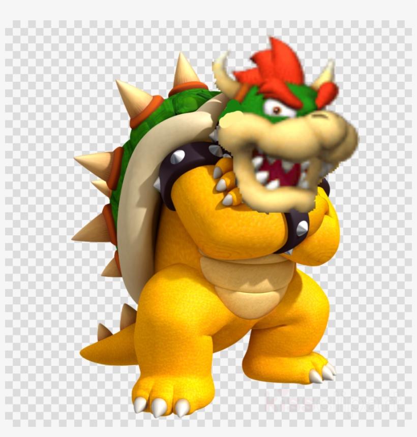 Transparent Bowser Png Clipart Bowser Mario Luigi 900x900 Png