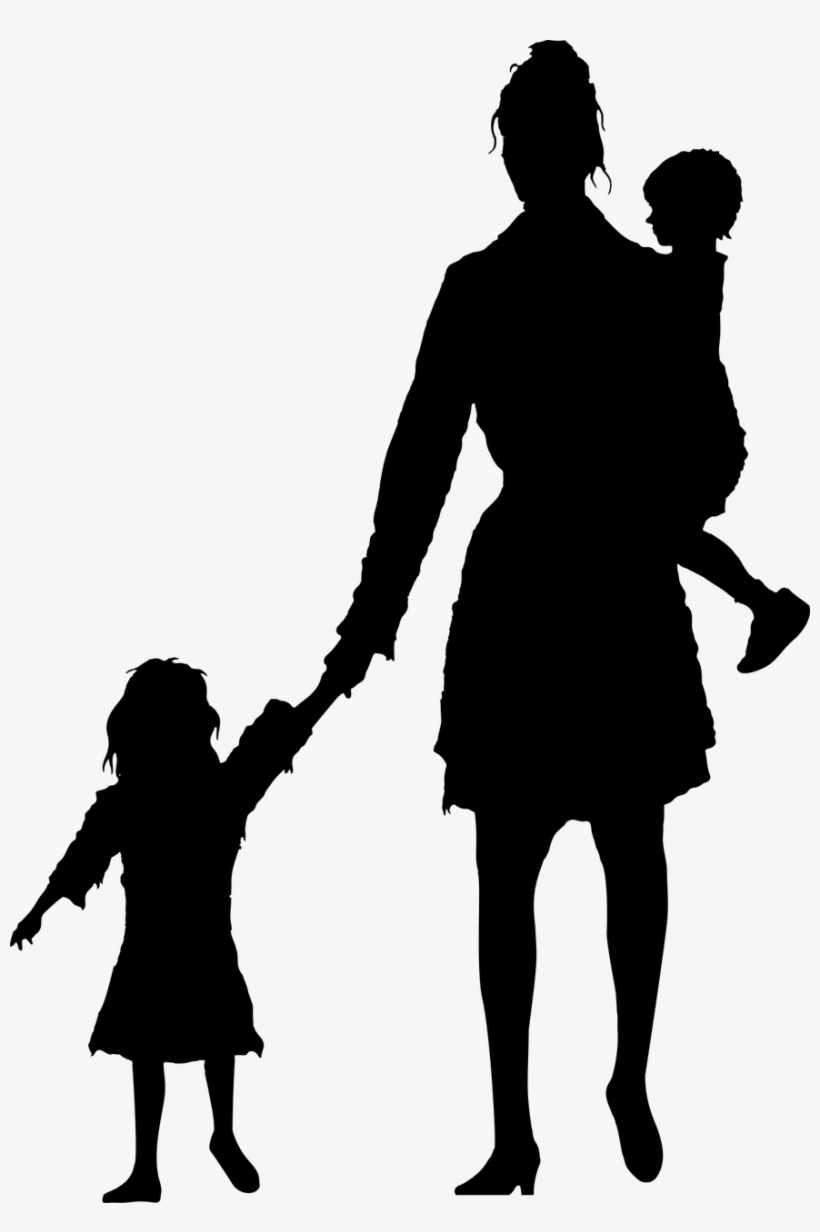 People Walking Away Silhouette Png - Child And Mother ... | 820 x 1232 jpeg 85kB