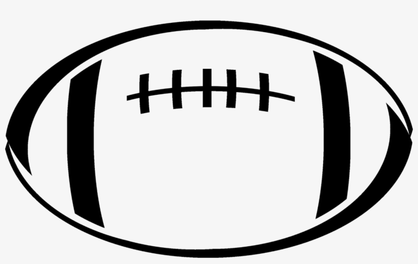 Rugby Ball American Football Drawing Football Clipart Black And White 1286x750 Png Download Pngkit
