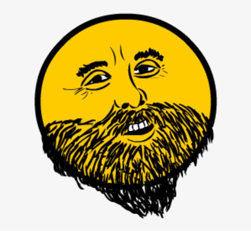 этого здесь картинка бородатый смайл с зубами таким красавцем каждая
