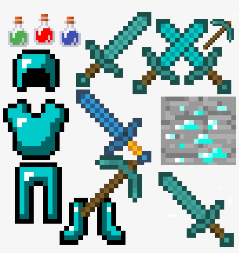 Swords Like Xs Pic Axe Sword Potion