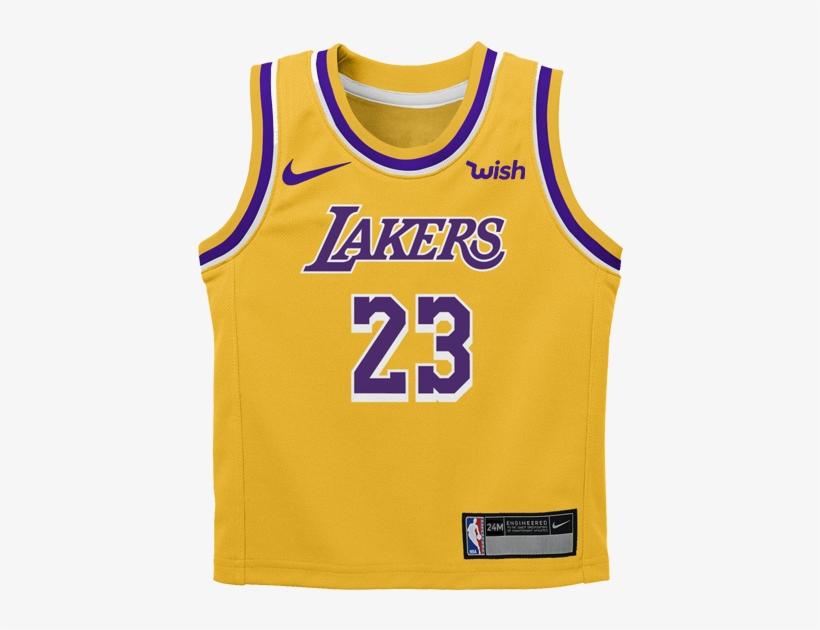 Los Angeles Lakers Kids Lebron James Icon Replica Jersey - Lebron ...