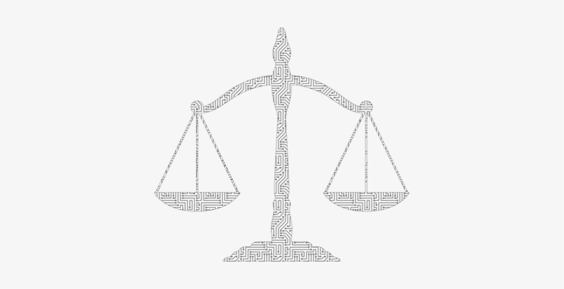 justice scales weight law equality
