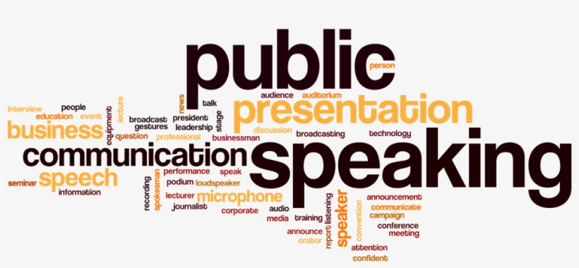 Public Speaking Art1 - Public Speaking Word Cloud, transparent png
