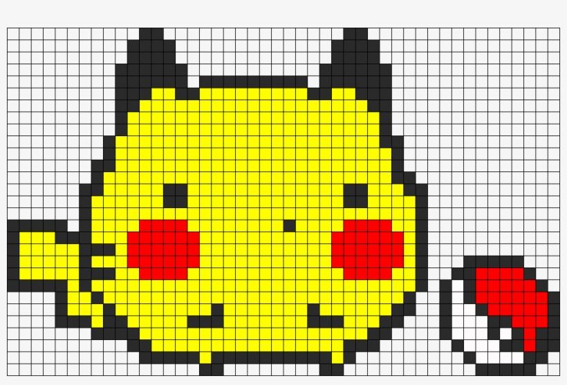 Chubby Pikachu Pikachu Kawaii Pixel Art 967x610 Png
