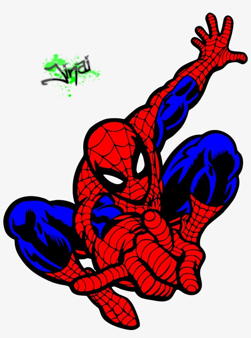 Dessins En Couleurs A Imprimer Spiderman Clip Art 1036x1341 Png Download Pngkit
