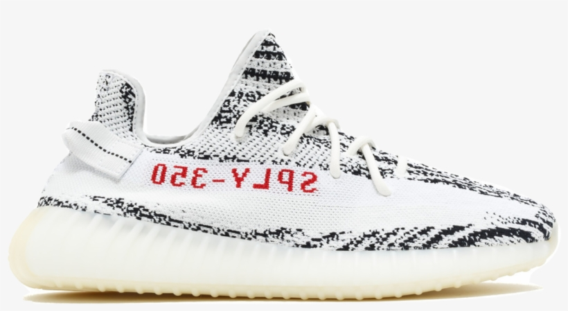 Yeezy Zebra Png - Adidas Yeezy Boost