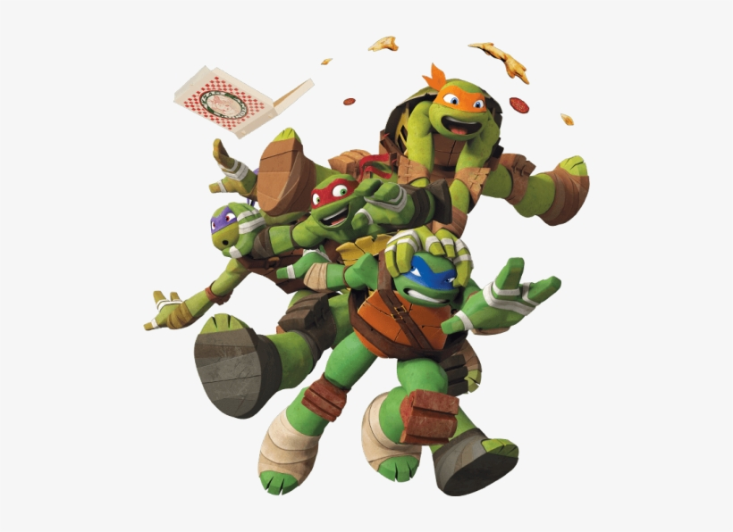 Nickelodeon Ninja Turtles Png Leonardo Raphael Michelangelo