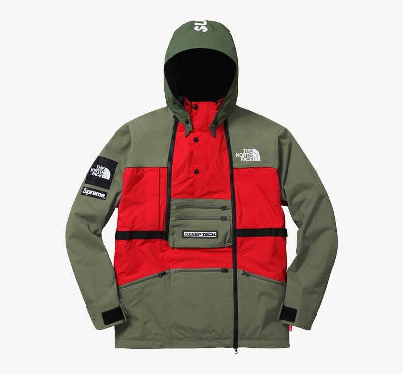 f6a74a23d2468 Supreme the North Face Steep Tech Hooded Jacket - 682x682 PNG ...
