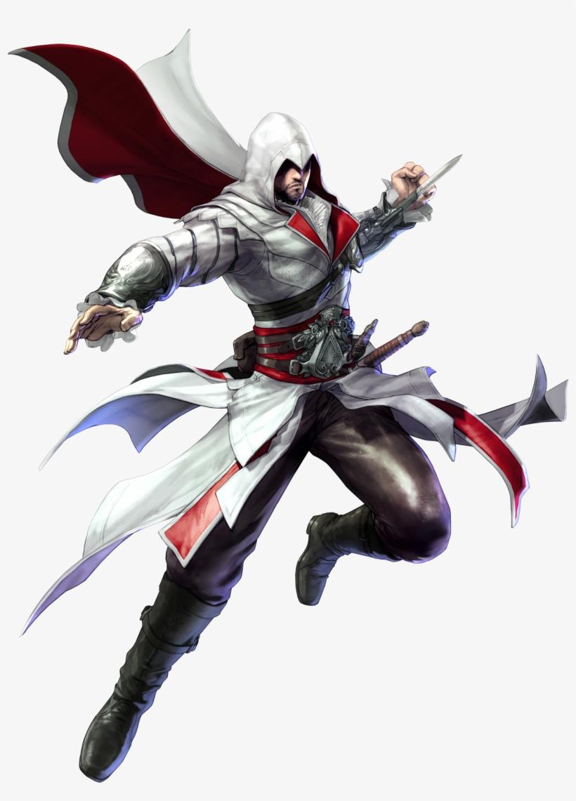 Assassins Creed Revelations Ezio Png Download Soul Calibur 5 Art