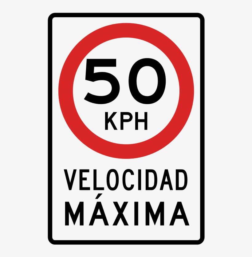 speed limit signs-HDR Spanish urban landscape Preview ...