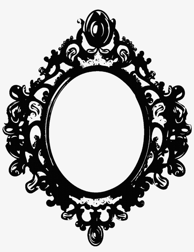 Mirror Png Clipart Victorian Oval Frame Png 2660x3307 Png Download Pngkit