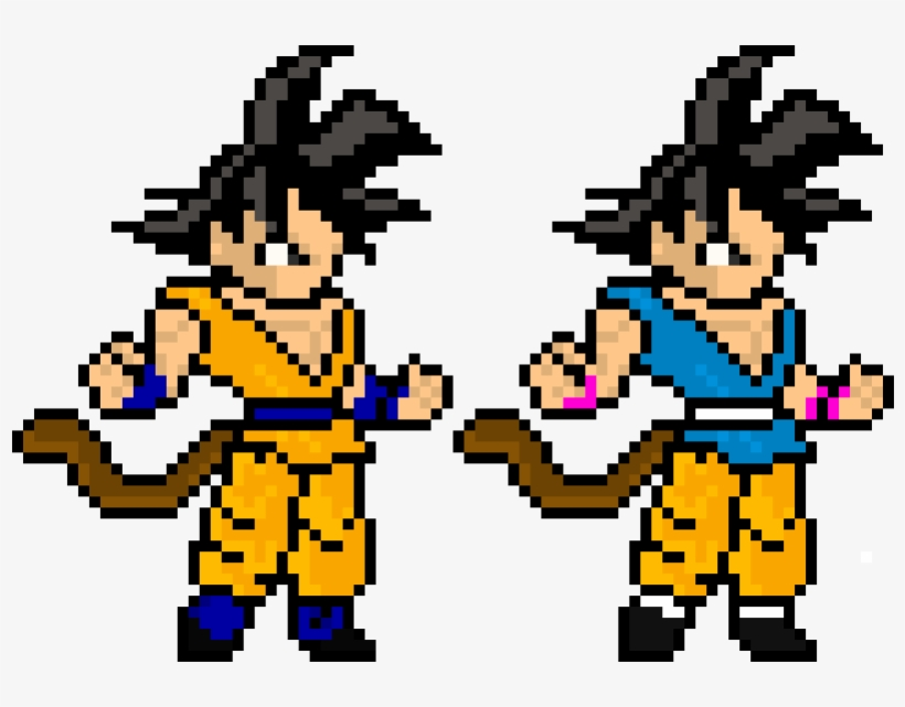 Gt Dragon Ball Super Goku Pixel Art 810x620 Png Download