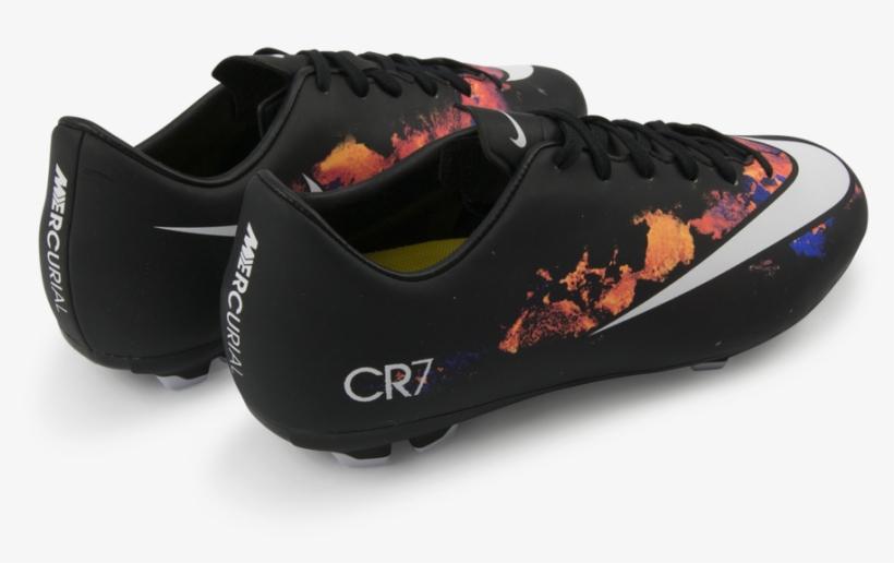 buy popular 707b8 f0b4a Nike Kids Mercurial Victory V Cr7 Fg Black/white/total ...