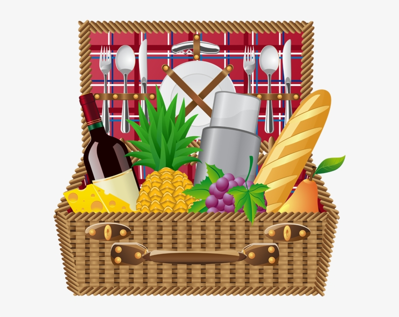 Web Design Development Summer Clip Art And - Picnic Basket