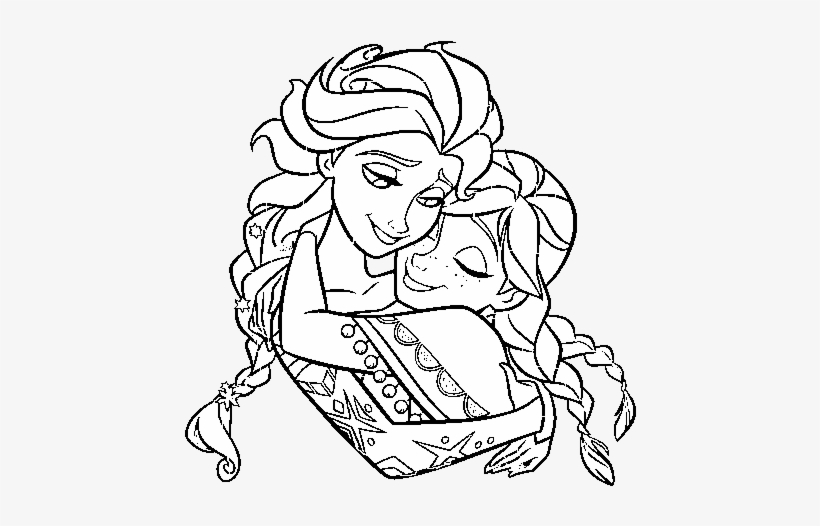 Frozen Elsa And Anna Frozen Elsa Y Anna Para Colorear