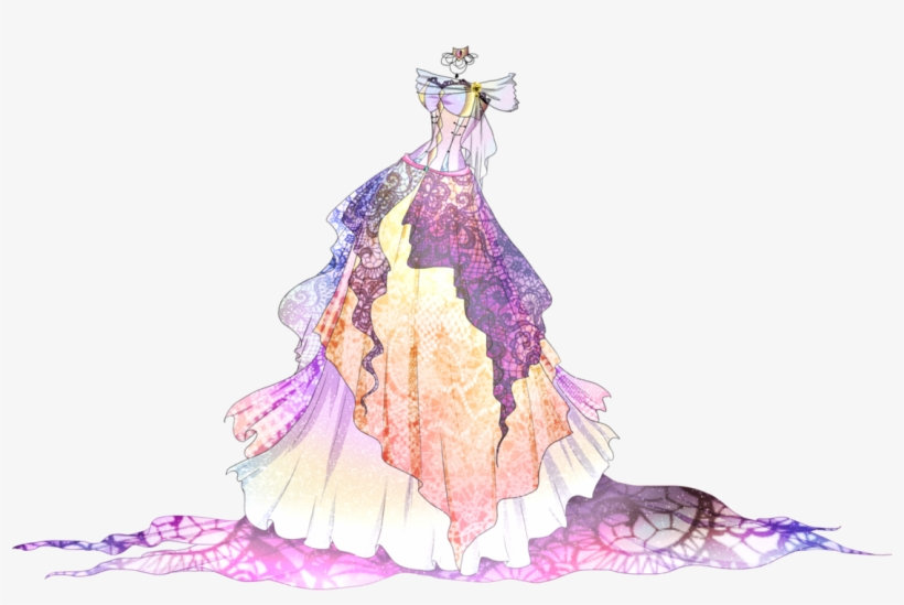 Ball Gowns Drawing At Getdrawings Ball Gown Anime Dress