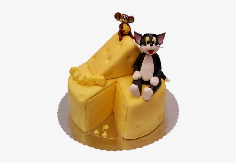 Magnificent Best Custom Cakes Nyc Tom And Jerry Birthday Cake Png 500X500 Funny Birthday Cards Online Eattedamsfinfo