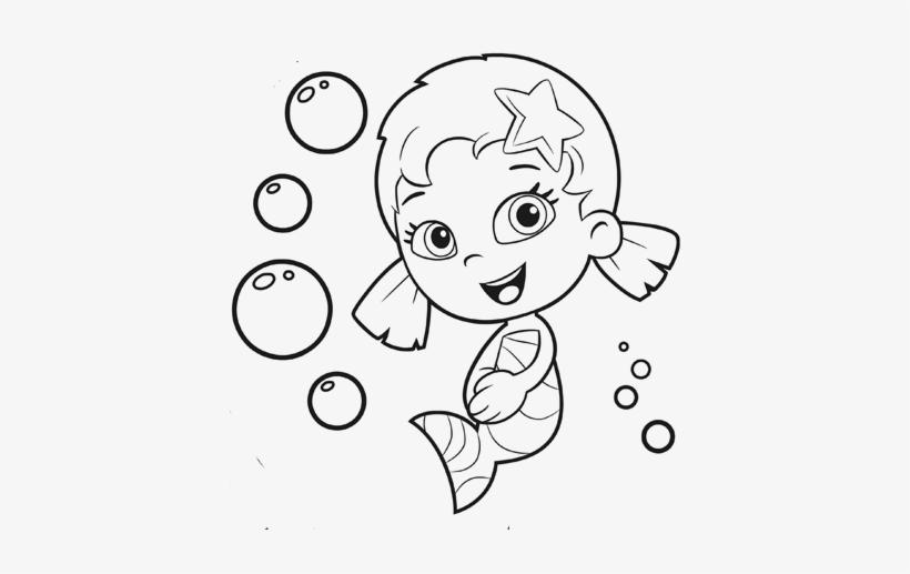 Bubble Guppies Coloring Pages - Guppie Bubble Coloring ...