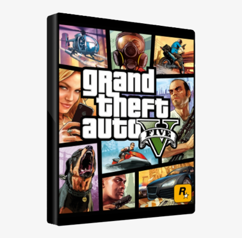 Michael, Trevor, And Brad - Gta 5 Cover Art Mouse Pad, Customized