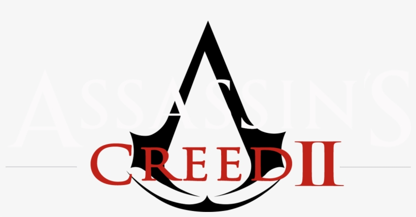 Assassin S Creed Ii Assasin Creed 2 Logo 1316x646 Png Download