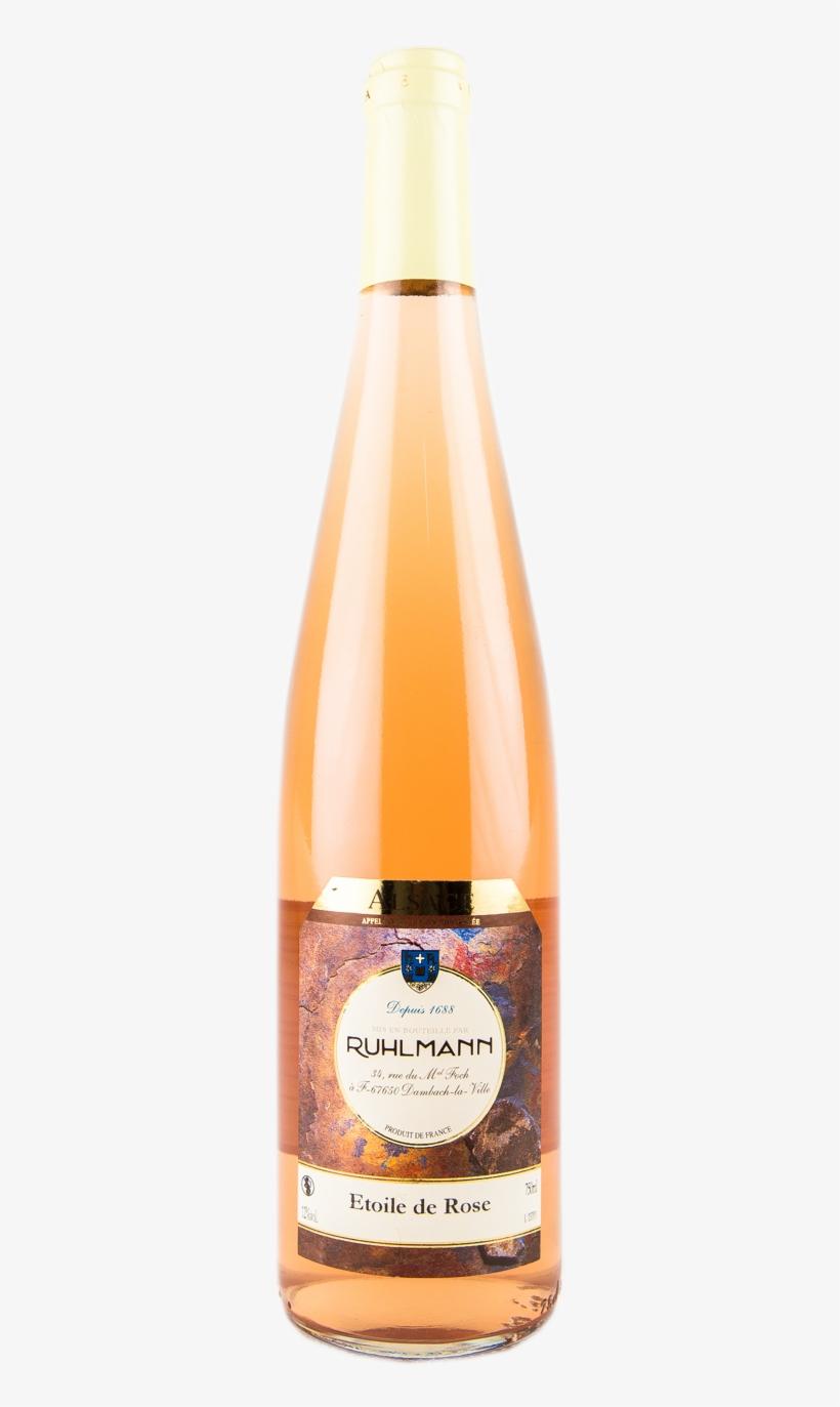 Deco Tonneau De Vin bouteille de vin alsace etoile de rose - besançon
