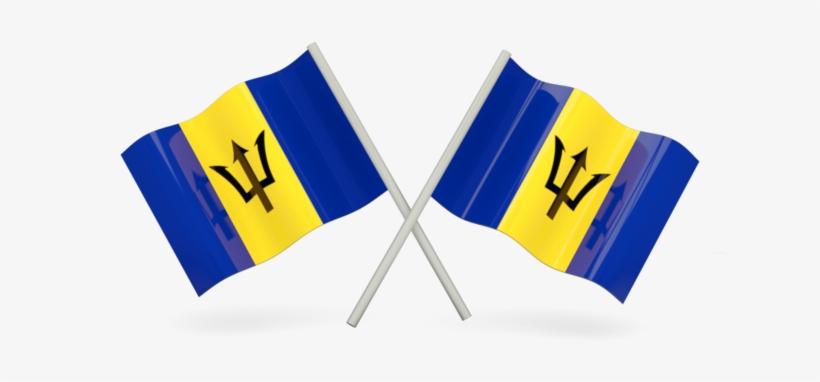 Barbados Flag Png 640x480 Png Download Pngkit