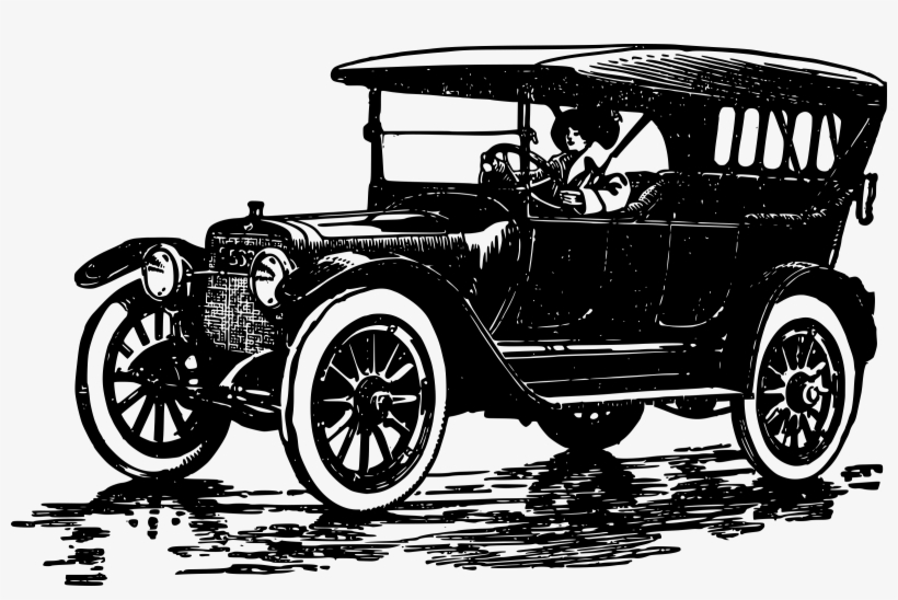 Model T Ford Pickup Drawing