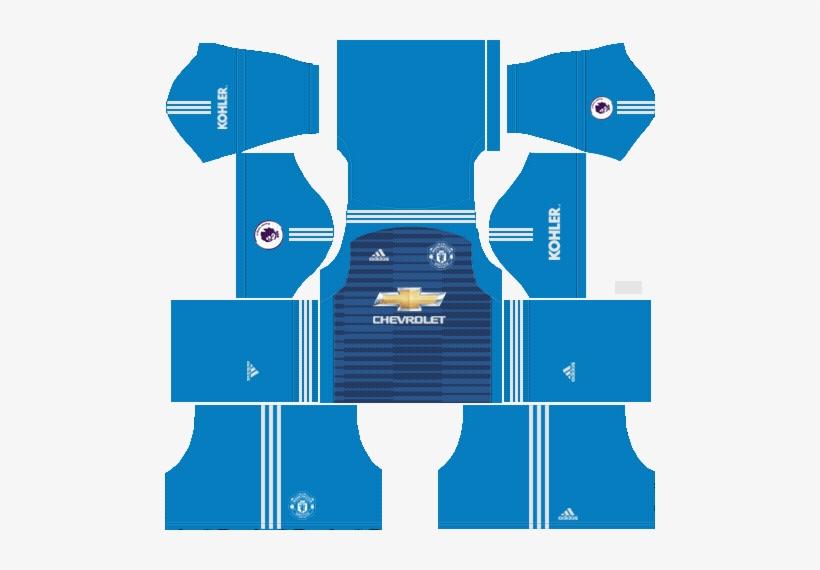 79860e751 Goalkeeper Manchester United Away Kit 2018 19 - Dream League Soccer 2018  Kits Japan