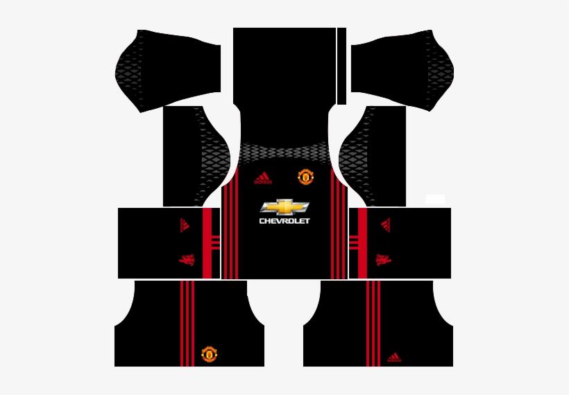 53b98d9e4 Manchester United 2016-2017 Goalkeeper Home Kits Dream - Dream League  Soccer Kit Do Psg