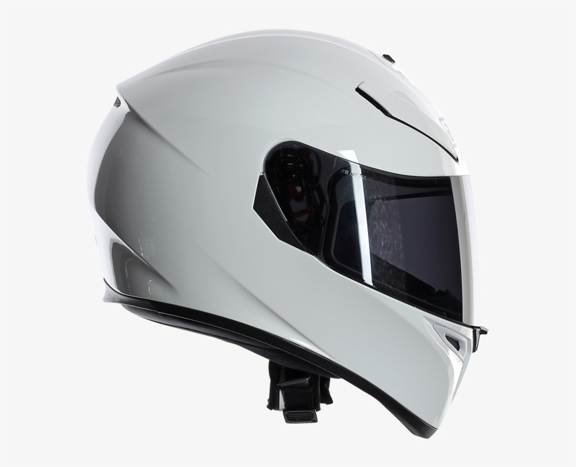 Picture Of Agv K 3 Sv Solid White Helmet Agv K3 Sv Ml 700x700 Png Download Pngkit