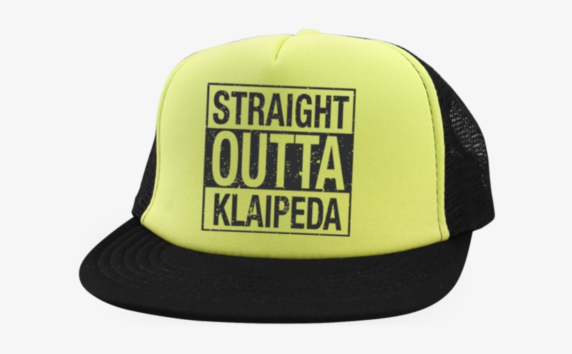 f1f3e09df9a Outta Klaipeda Trucker Hat With Snapback - Straight Outta Hockey Dad  Blank  Book Journal Lined