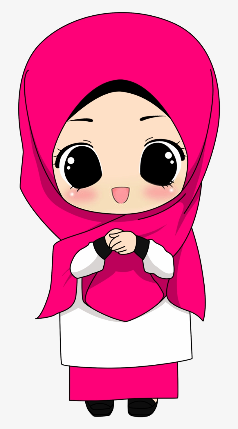 Kartun Hijab Cartoon Muslim 720x1450 PNG