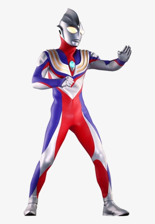 Ultraman Tiga Png - 615x1161 PNG Download - PNGkit