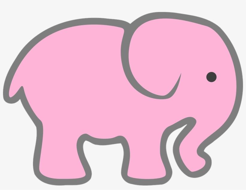 Download Transparent Elephant Clipart Baby Shower ...