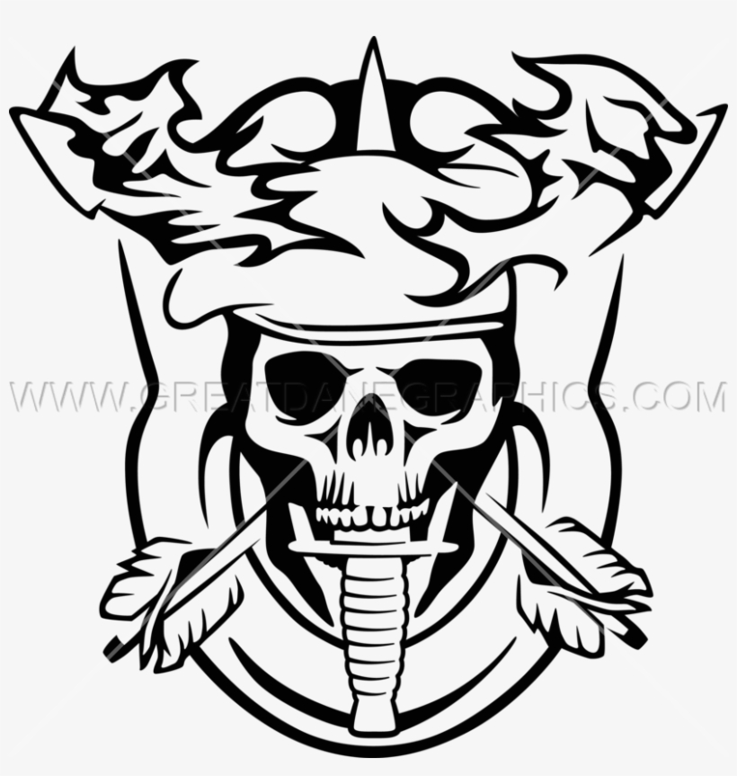 9306841395a13 Clip Art Stock Drawing Arrow Skull - Skull With A Beret Transparent  Background