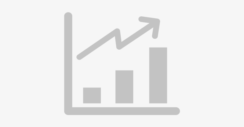 Use Of Linkedin And Instagram Have Increased Growth Icon Png Grey 424x372 Png Download Pngkit