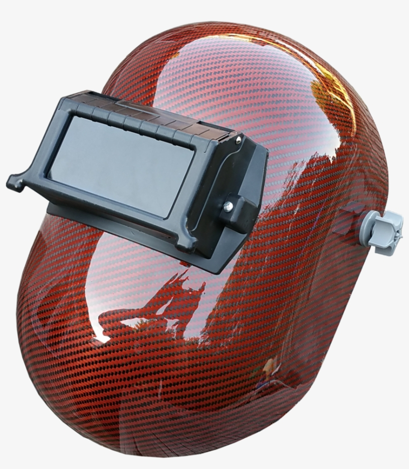 51136823 Orange Carbon Fiber Welding Helmet - Jackson Safety Nexgen Welding Helmet