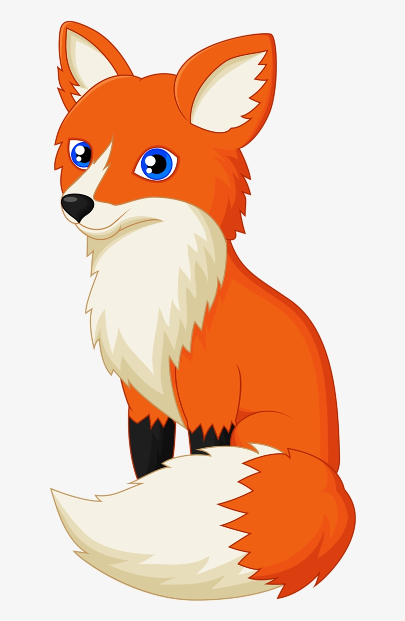 Drawing Red Fox Clip Art Transprent Png Fox Clipart 709x1280 Png Download Pngkit