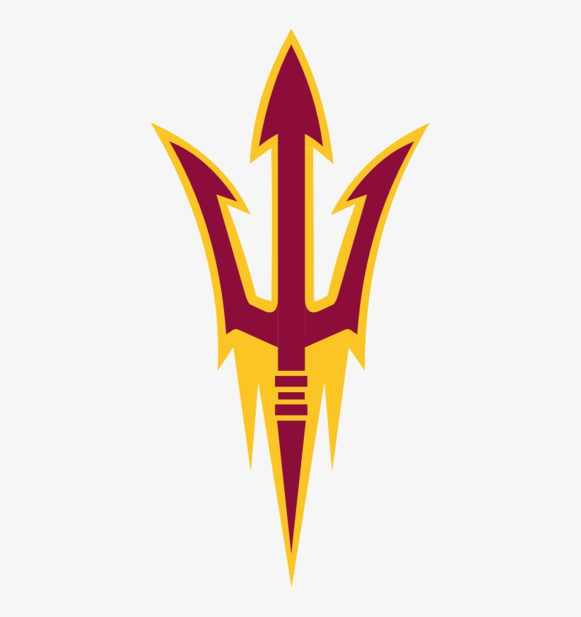 fear the fork arizona state sun devils logo png 395x790 png download pngkit arizona state sun devils logo png