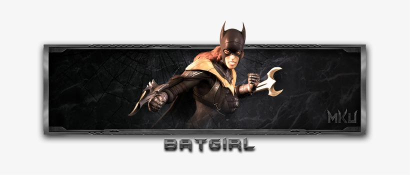 Batgirl Is A Character In Injustice Wiki 698x295 Png Download